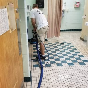Floor Care - Grout Cleaning and Sealing