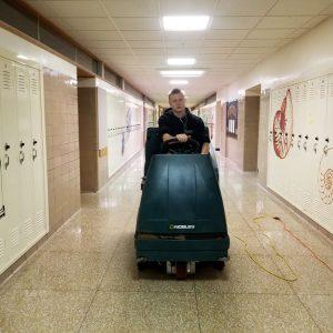 Floor Care - Floor Recoating