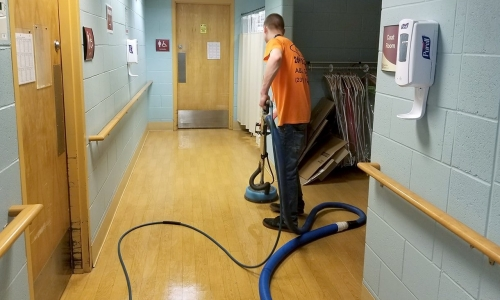 Maintain Spaces with Janitorial Services in Kalamazoo