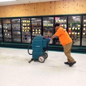 Floor Care - Floor Scrubbing and Recoating